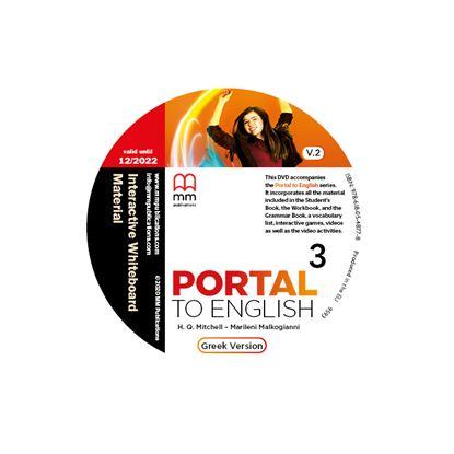 Εικόνα της DVD Interactive Whiteboard Material PORTAL TO ENGLISH 3