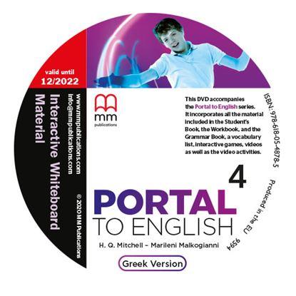 Εικόνα της DVD Interactive Whiteboard Material PORTAL TO ENGLISH 4