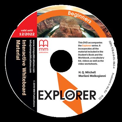 Εικόνα της DVD EXPLORER Beginners Interactive Whiteboard Material