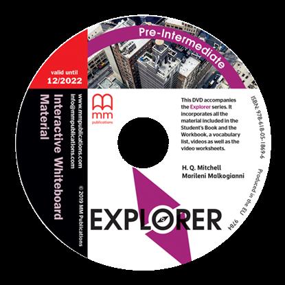 Εικόνα της DVD EXPLORER Pre-Intermediate Interactive Whiteboard Material