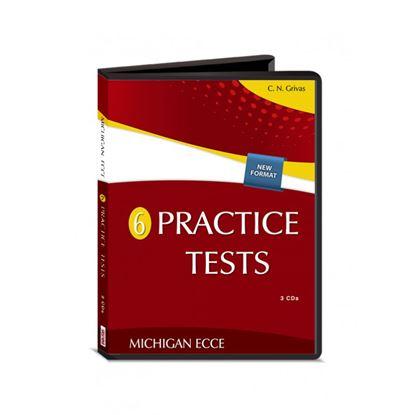 Εικόνα της NEW FORMAT ECCE 6 PRACTICE TESTS CDs(3) 2020