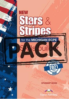 Εικόνα της NEW STARS & STRIPES ECPE 2021 EXAM SKILLS BUILDER STUDENT'S BOOK (+DIGIBOOK APP)