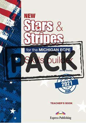 Εικόνα της NEW STARS & STRIPES ECPE 2021 EXAM SKILLS BUILDER TEACHER'S BOOK (+DIGIBOOK APP)