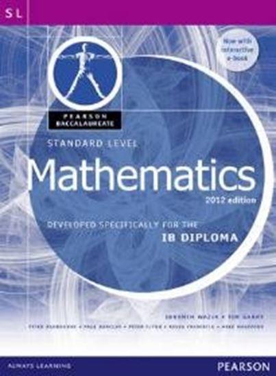 Εικόνα από PEARSON BACCALAUREATE : IB MATHEMATICS 2012 EDITION (STANDARD LEVEL) (+ E-BOOK) IB DIPLOMA PB