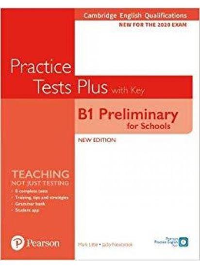 Εικόνα από PET FOR SCHOOLS PRACTICE TESTS PLUS FOR 2020 EXAMS SB WITH KEY