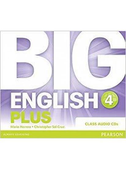 Εικόνα από BIG ENGLISH PLUS 4 CD CLASS - BRE