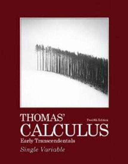 Εικόνα από THOMAS CALCULUS: EARLY TRANSCENDENTALS