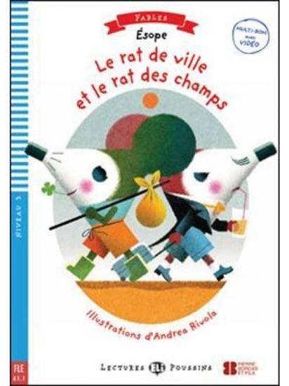 Εικόνα από LEP 3: LE RAT DE VILLE ET LE RAT DES CHAMPS (+ CD)