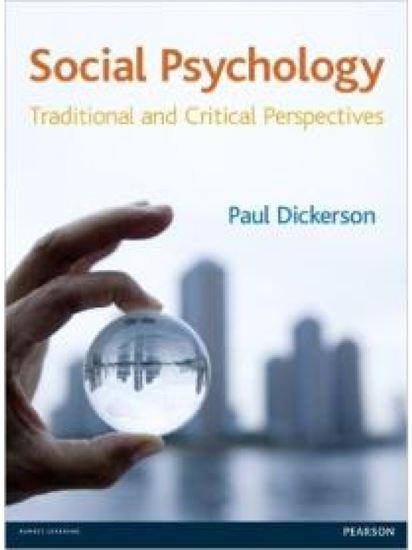 Εικόνα από PSYCHOLOGY: TRADITIONAL AND CRITICAL PERSPECTIVES PB