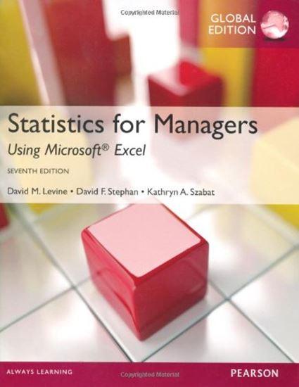 Εικόνα από STATISTICS FOR MANAGER 7TH ED