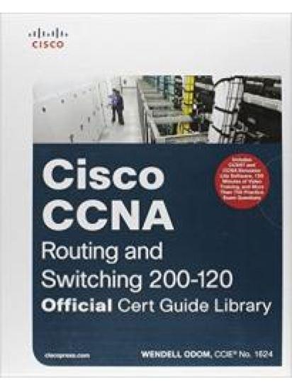 Εικόνα από CISCO CCNA ROUTING AND SWITCHING 200-120 OFFICIAL CERT GUIDE LIBRARY HC