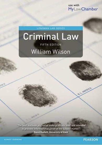 Εικόνα από CRIMINAL LAW 5TH ED PB