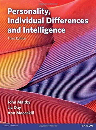 Εικόνα από PERSONALITY, INDIVIDUAL DEFFERENCES AND INTELLIGENCE PB
