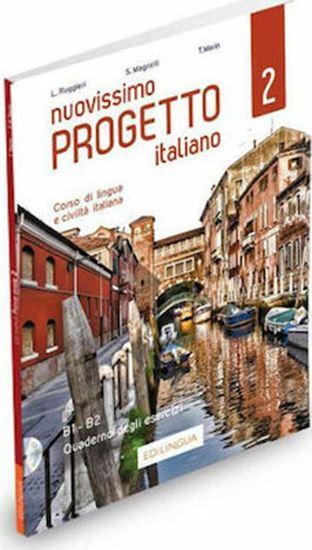 Εικόνα από NUOVISSIMO PROGETTO ITALIANO 2 ESERCIZI (+CD) (B1-B2)
