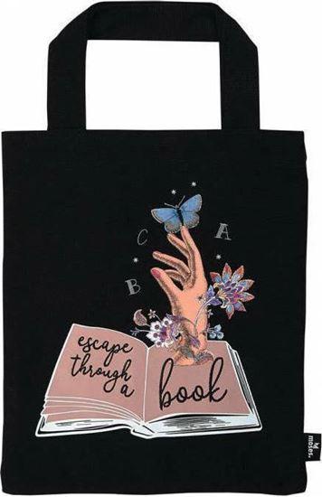 Εικόνα από ΤΣΑΝΤΑΚΙ BOOK BAG ESCAPE THROUGH A BOOK M83353