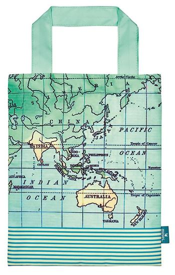 Εικόνα από ΤΣΑΝΤΑΚΙ TRAVEL BOOK BAG Map polyester 82459